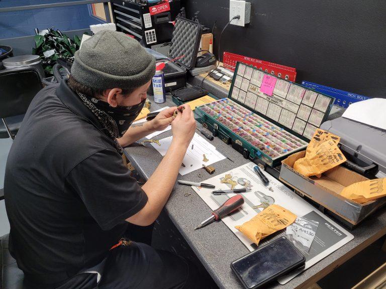 Pin kit and rekeying